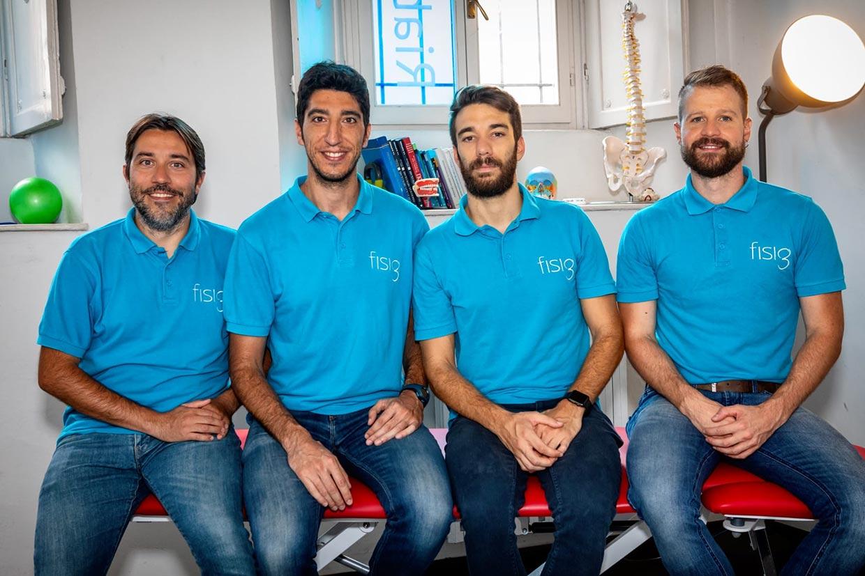 foto del team di fisiotre